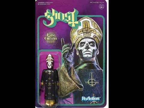 Ghost's Papa Emeritus III Action Figure now out..!