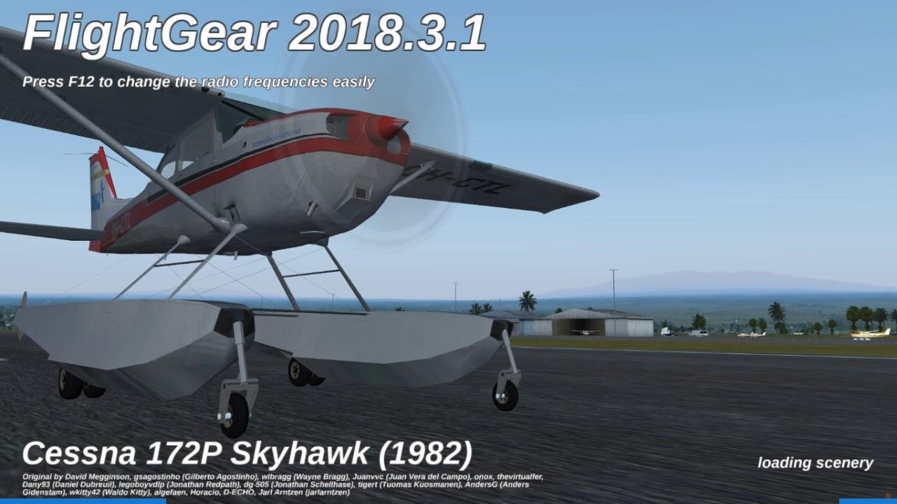 How to install FlightGear addons!