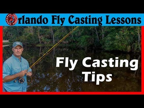 Fly Casting Instruction -  Correcting Swinging Loops