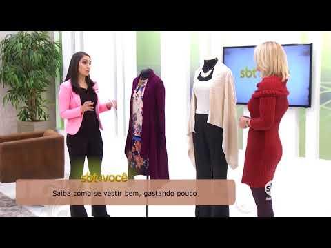 SBT & Você dá dicas de como se vestir bem, gastando pouco (11/08/2018)