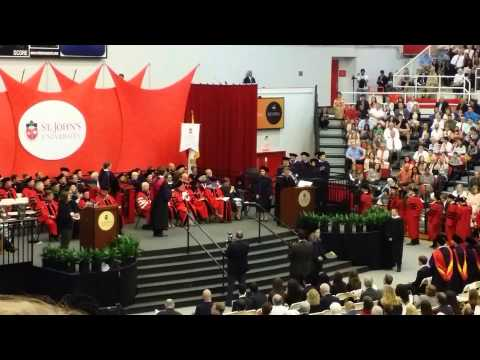 St.John's Law School Graduation 2014