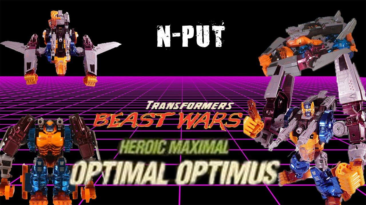 Beast Wars TransMetals Optimal Optimus Toy Review by N-PUT