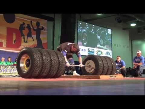 Người đàn ông khỏe nhất thế giới 2014 - nâng tạ 523 kg