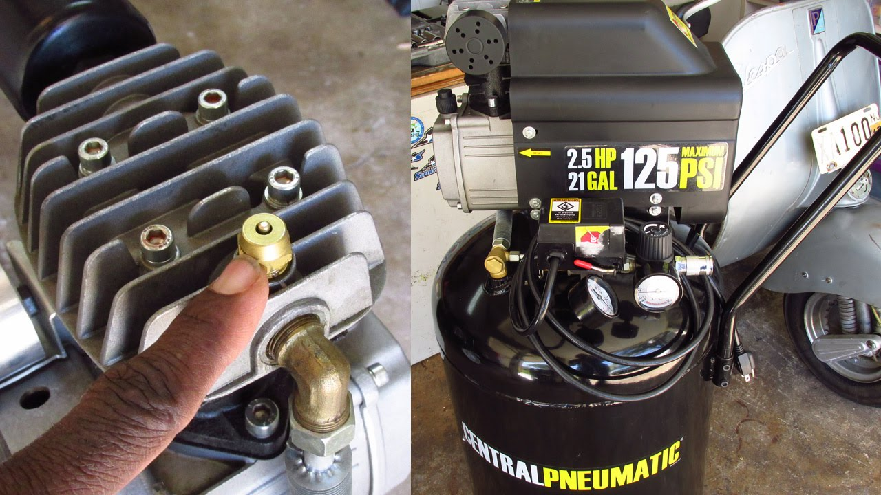 Central Pneumatic 3 Gallon Air Compressor Parts