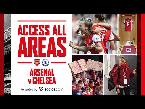 ACCESS ALL AREAS |  Arsenal vs Chelsea (3-2) |  Miedema, Mead (2)