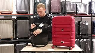 Чемодан-ручная кладь. Лайфхак по выбору самого удобного чемодана. Обзор чемодана. Коллекция D-Box