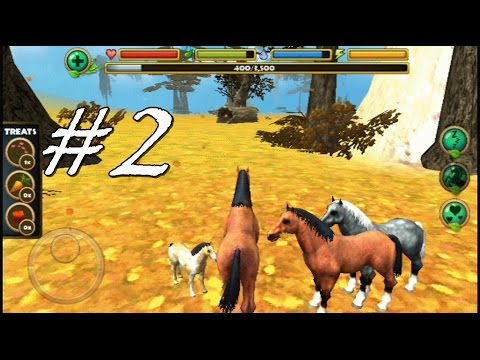 Wild Horse Simulator By Gluten Free Games - Android & iOS - Gameplay Part 2
