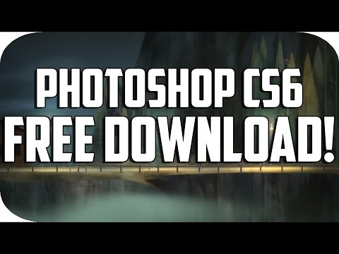 How To Get Photoshop CS6 For Free 2016!