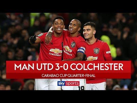 Rashford & Martial score to secure semi-final spot | Man Utd 3-0 Colchester | Carabao Cup Highlights