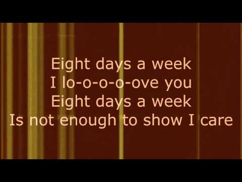 Eight Days a Week  The Beatles Lyrics