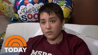 Florida School Shooting Survivor: 'I Thought I Was Not Getting Out Of This Alive' | TODAY