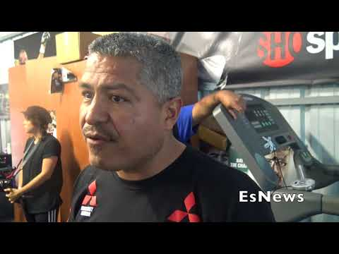 Robert Garcia On Media Trying Boxing Workout You'll Never Know Until You Try It EsNews Boxing