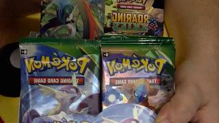 Pokemon Roaring Skiez Booster Pack Opening (4) {WIN CODE CARDS}
