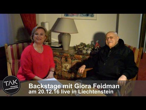 TAK Backstage mit Giora Feidman über Klezmer, Kunst und wie er zur Klarinette kam - Interview 2016
