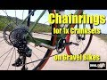 Chainrings for 1x Cranksets on Gravel Bikes - Third Party Options