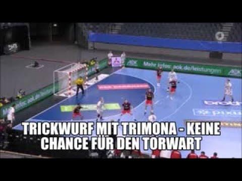 Trickwurf Handball Nationalmannschaft