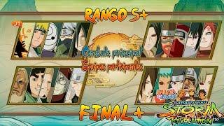 Naruto Shippuden Ultimate Ninja Storm Revolution Final Bijus Torneo Rango S+ Español Gameplay