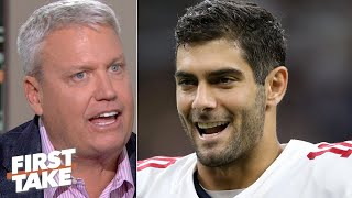 Jimmy Garoppolo isn't the 49ers' weak link, and he proved it! – Rex Ryan | First Take