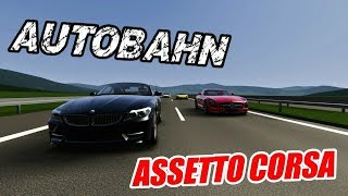 Assetto Corsa Gameplay - Lamborghini Gallardo Autobahn Mod Cruising! [ Wheel Cam ]