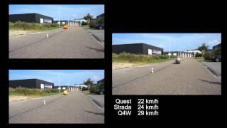 slalom test quest strada q4w fourwheeler