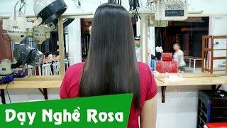 Hướng dẫn duỗi tóc trung bình yếu