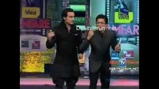 Madhavan teases Shahrukhkhan and Saifalikhan in Tamil     in 55th Filmfare Awards