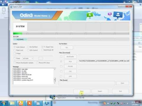 How To Flash Samsung Galaxy Grand 2 G7102 with Odin
