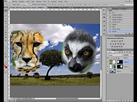 Come Unire Più Immagini In Photoshop How To Merge Multiple Images