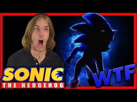 Sonic The Hedgehog Movie (2019) | Teaser - Reaction