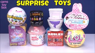 Toy Surprises Opening Pacman Mashem Molang LOL Lil Sisters 3 Roblox NUM Noms 5 Flush Force Kids Toys
