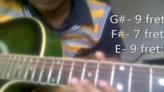 Chor Bazari Guitar Lesson - Om