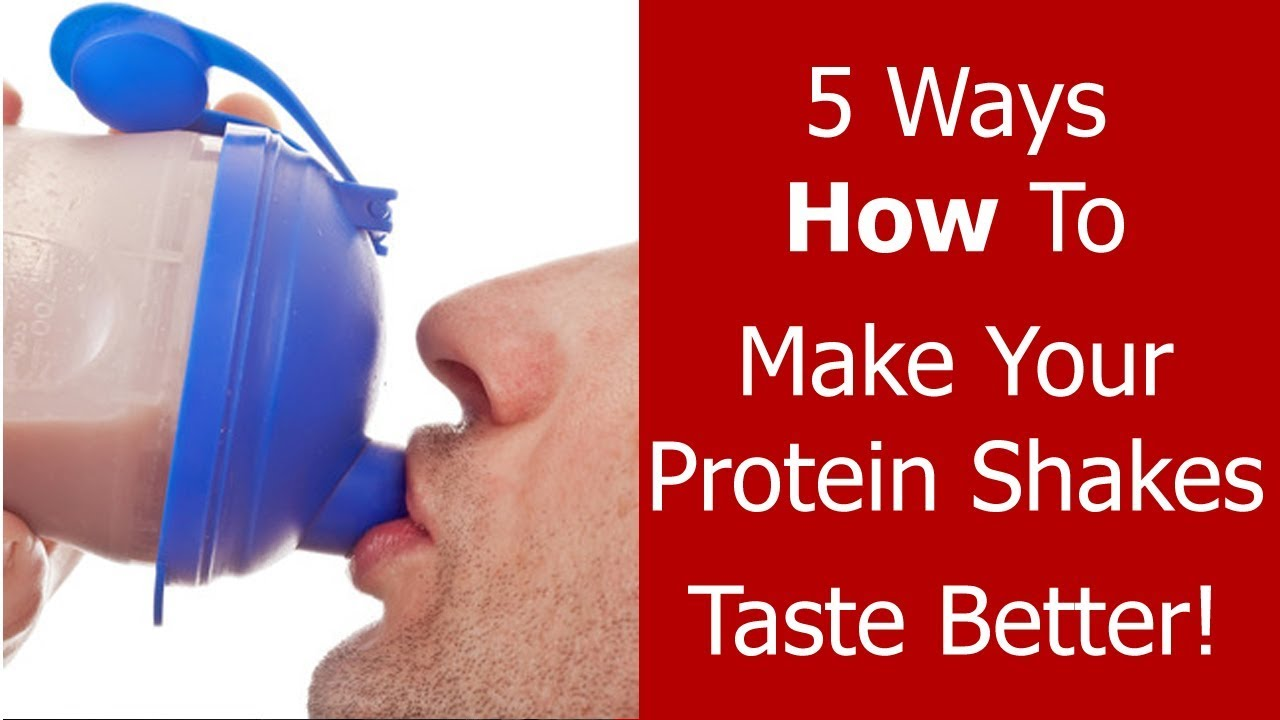 5 Ways How To Make Your Protein Shakes Taste Better - Youtube-4285