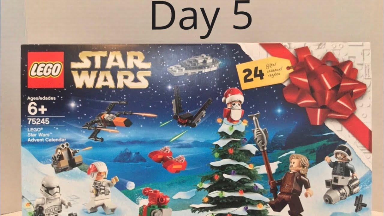 lego star wars advent calendar 2019 day 5 youtube. Black Bedroom Furniture Sets. Home Design Ideas