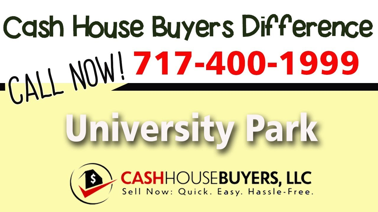 Cash House Buyers Difference in University Park MD | Call 7174001999 | We Buy Houses
