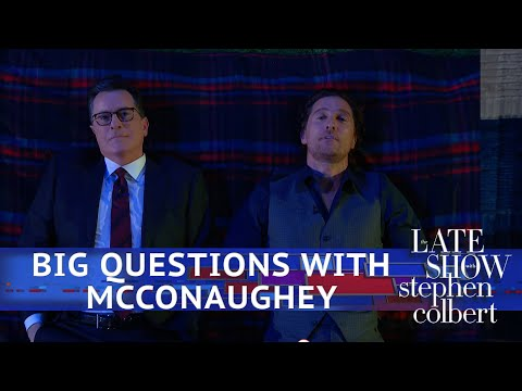 Matthew McConaughey: Big Questions With Even Bigger Stars