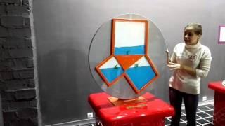Теорема Пифагора наглядно. Музей