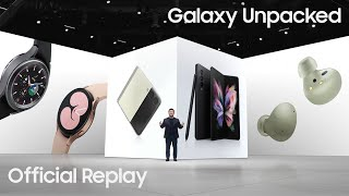 Download Galaxy Unpacked August 2021: Official Replay   Samsung