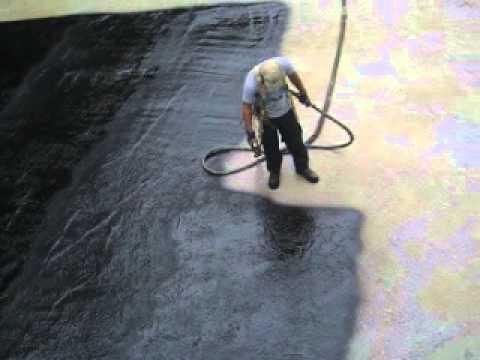 Bassin de ciment avec armature rouill e youtube for Membrane caoutchouc bassin