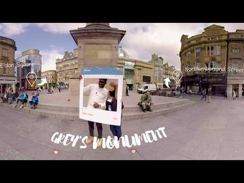 Northumbria University 360 Virtual Video in Newcastle