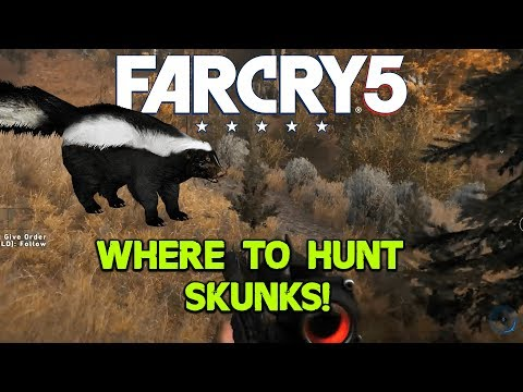 Where to find skunk skins in Far Cry 5 - Reddit request