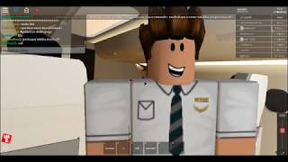 VÔO TAP First Class (Roblox) Parte 1