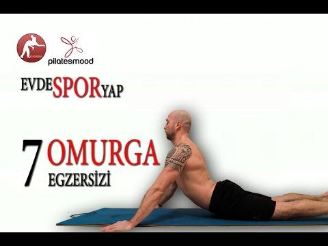 Evde Spor Yap / Omurganıza İyi Gelecek 7 Pilates Egzersizi