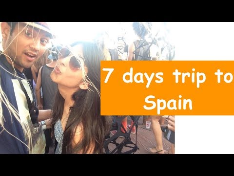 How To Plan Spain Trip From India | 7 Days Europe Travel | In Hindi