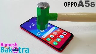 Oppo A5s Screen Scratch Test Gorilla Glass 3