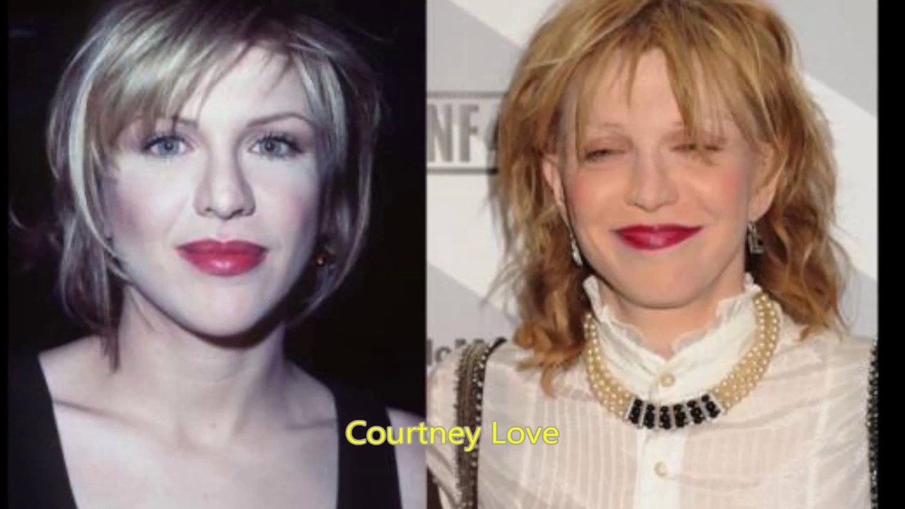 Celebrities Before And After Drugs