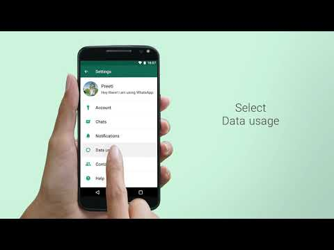 WhatsApp FAQ - Data roaming charges while abroad