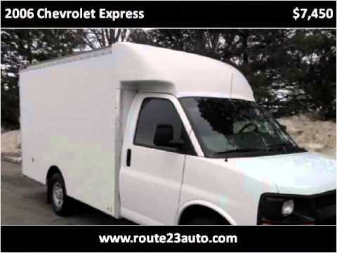 2006 Chevrolet Express Used Cars Flint MI
