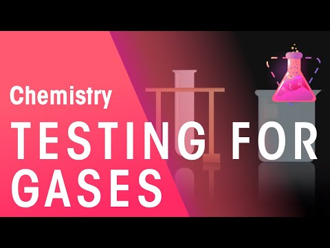 Testing for hydrogen, oxygen, carbon dioxide and chlorine | Chemistry for All | The Fuse School