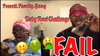 Baby Food Challenge FAIL!!!