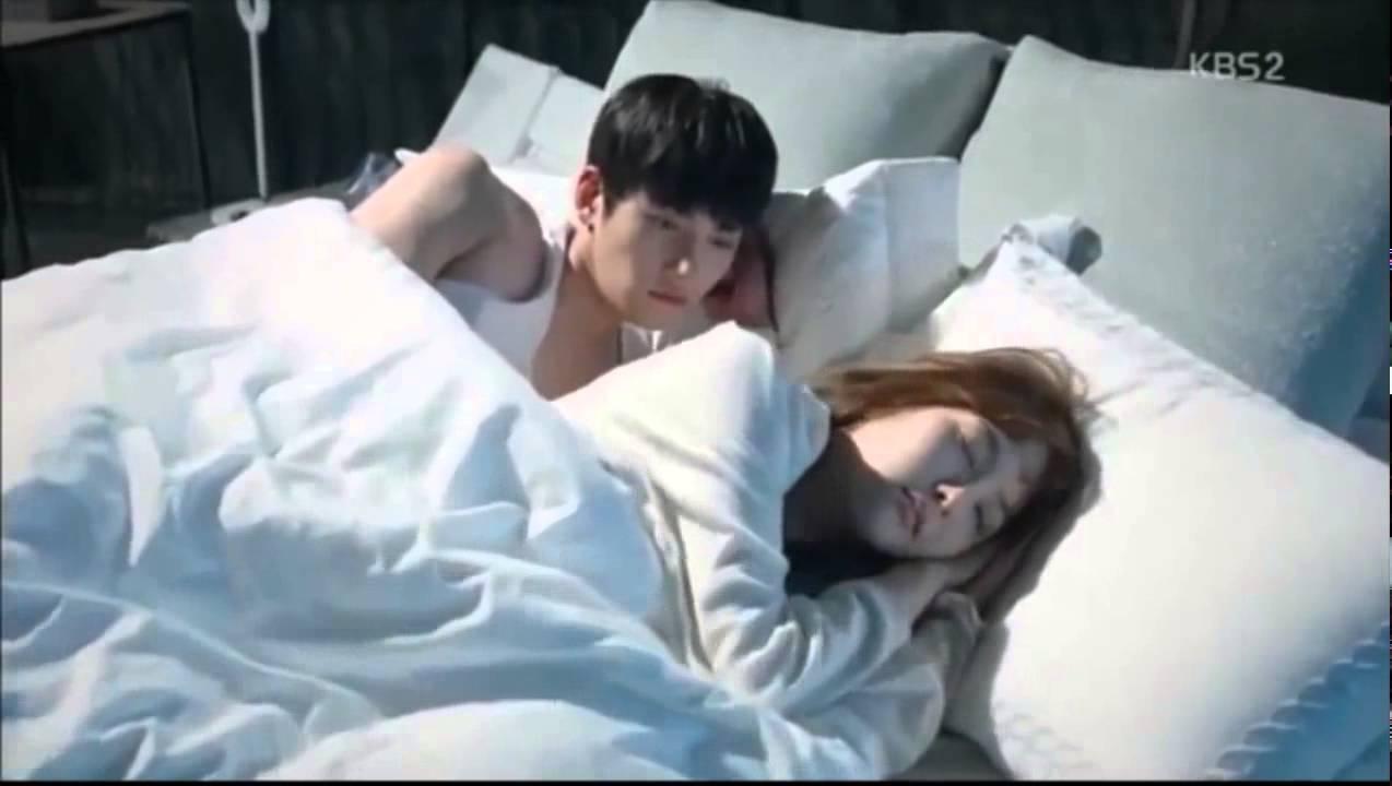 healer ji chang wook amp park min young sweet bed scene
